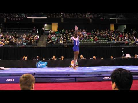 Marvin Kimble - Jr Vault Finals - 2012 Kellogg&#039;s Pacific Rim Championships