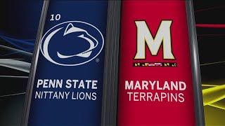 Penn State at Maryland - Football Highlights