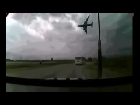 Crazy Boeing 747-400 Crash, Bagram Air Base, Afghanistan