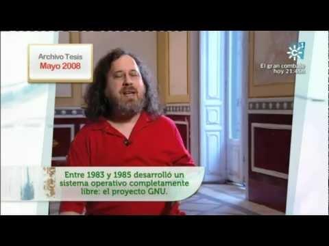 Vídeo Tesis software Libre