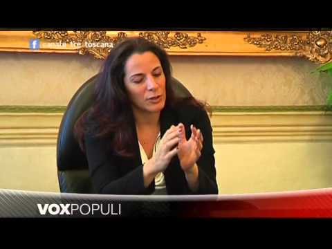 Virginia Masoni intervista il Presidente della Fondazione Monte dei Paschi Antonella Mansi