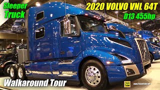 2019 Volvo VNL 64T 860 D13 455hp Sleeper - Exterior and Interior Walkaround - 2019 Expocam Montreal