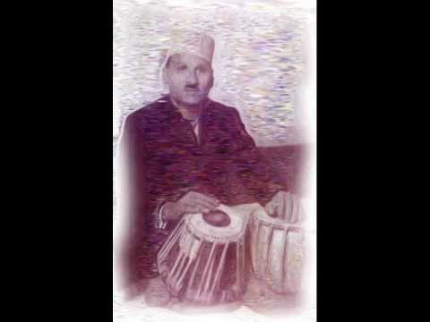 Ustad Thirakhawa Khansaheb plays Ektaal