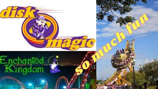 [TribalEngel HD] Disk O Magic Rides @ Enchanted Kingdom Newest Ride of 2012