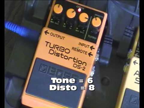 Démo Boss DS-2 Turbo Distortion