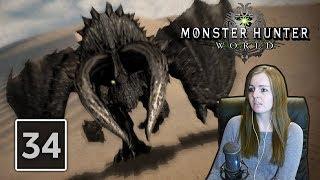BLACK DIABLOS HUNT | Monster Hunter World Gameplay Walkthrough Part 34