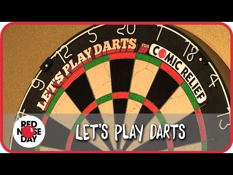 Let's Play Darts for Comic Relief Red Nose Day