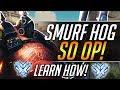 SMURF HOG   Roadhog Pro Gameplay Guide | Overwatch Guide