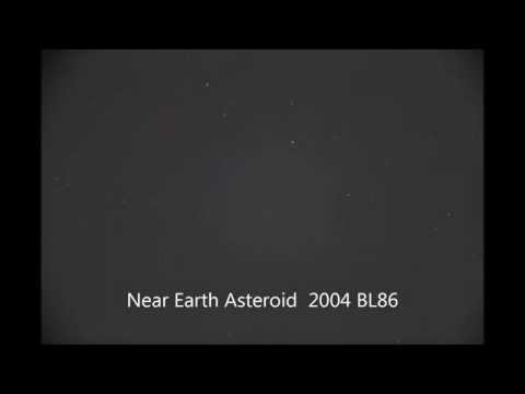 Potentially Hazardous Near Earth Asteroid 2004 BL86 buzzes by Earth