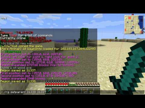 [NGH] - Minecraft - WorldGuard - Basic Protect Zone (ไทย)