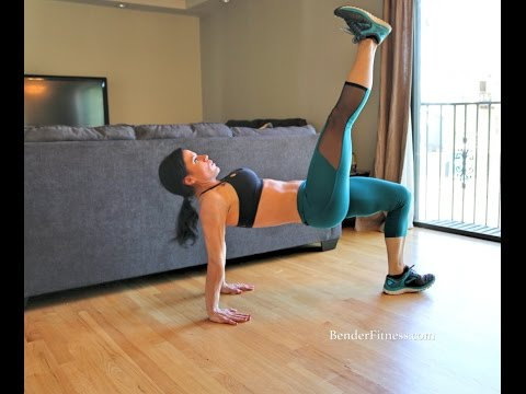 Legs & Core Home Interval Workout: Low Impact