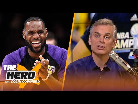 Colin Cowherd 3-Word Game for the 2018-19 NBA Season | NBA | THE HERD