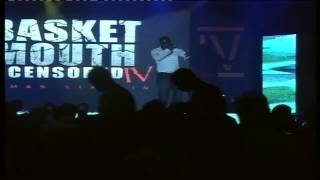 Basketmouth Features Nigger Raw Live On Stage