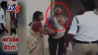 Drunken Man Attacks on Police Constable | Siddipet Police Station