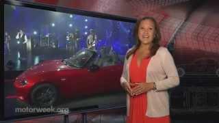 MotorWeek | Motor News: 2015 Chevrolet Corvette Z06 & 2016 Mazda MX-5 Miata