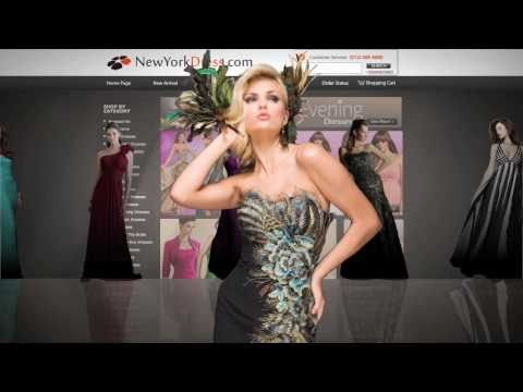Dress Designer Online on Designer Dress Boutique   New York Dress