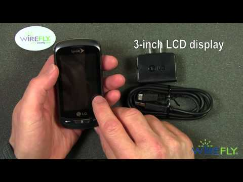 LG Rumor Reflex Feature Phone for Sprint Unboxing Review from Wirefly