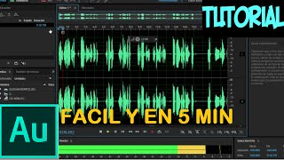 Como Mejorar El audio con Adobe Audition CS6 |2016