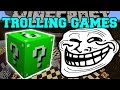 Minecraft: KINGDOMS OF THE OVERWORLD TROLLING GAMES - Lucky Block Mod - Modded Mini-Game