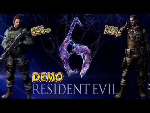 Resident Evil 6 DEMO - Campanha Chris Redfield e Piers Nivans