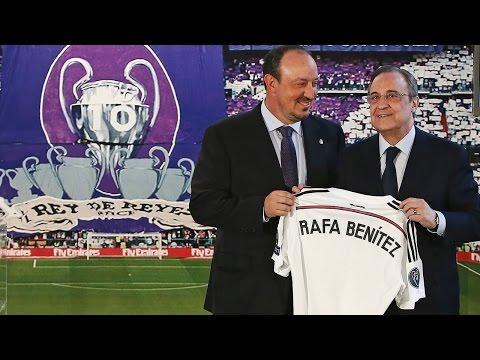 Real Madrid presenta a Rafael Benítez como su DT