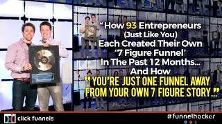 [1/5] How 93 Entrepreneurs (just like you) Created a 7 Figure Sales Funnel (TRUE STORY)