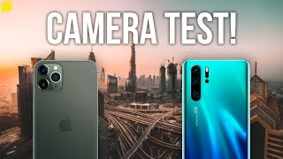 Apple iPhone 11 Pro Max vs Huawei P30 Pro: Ultimate Camera Comparison!