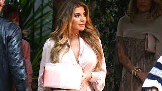 Larsa Pippen And LL Cool J Attend Khloe Kardashian's Baby Shower