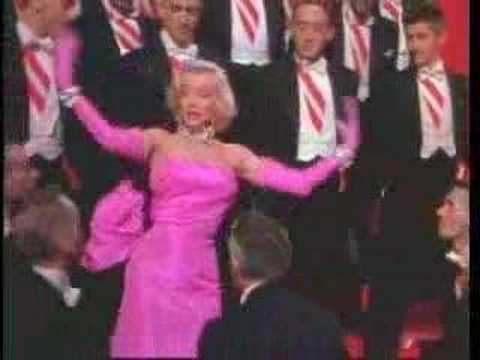 Marilyn Monroe - Diamonds Are A Girls Best Friend Video
