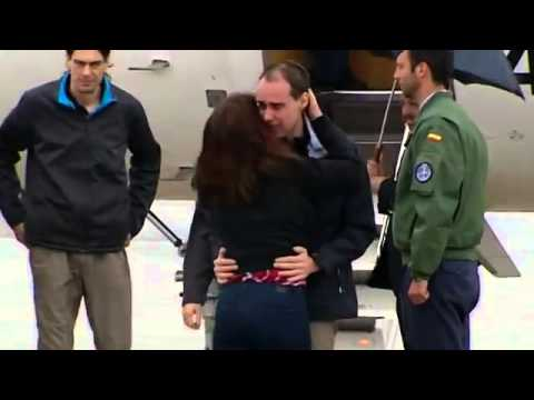 Three Spanish journalists kidnapped in Syria return home
