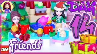 Lego Friends Day 14 Advent Calendar 2016 Christmas Countdown Review Build Silly Play - Kids Toys