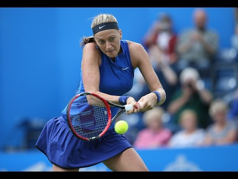 2016 Aegon Classic First Round | Petra Kvitova vs Lucie Safarova | WTA Highlights