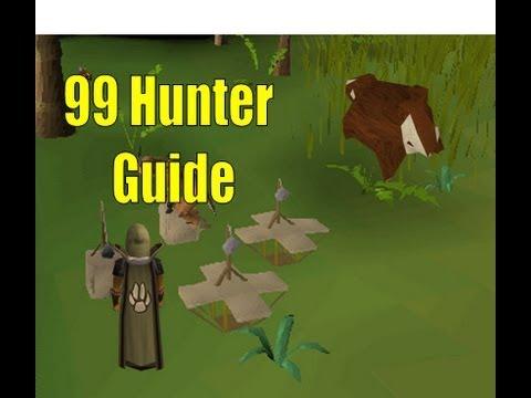 99 Hunter guide old runescape 2007