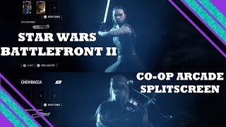 Star Wars Battlefront II Arcade Co Op Splitscreen