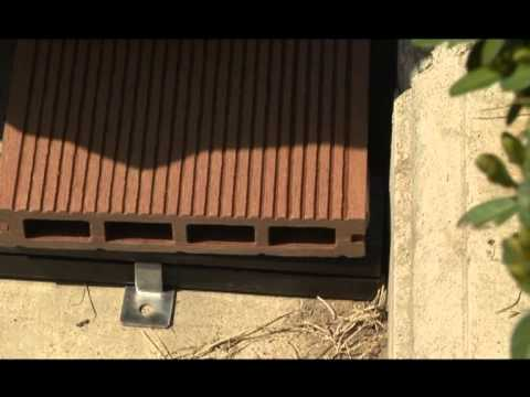 Installation Guide Of Bamboo Composite Decking Youtube