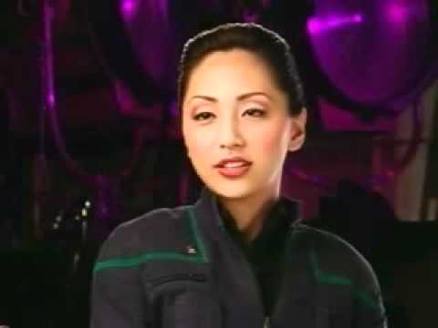 Linda Park Interviewed on Enterprise Set