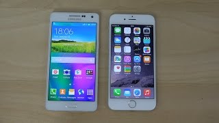 Samsung Galaxy A5 vs. iPhone 6 - Review (4K)
