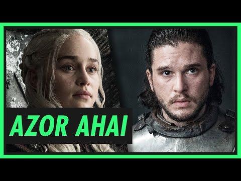 AZOR AHAI - Quem é a pessoa que vai salvar Game of Thrones?