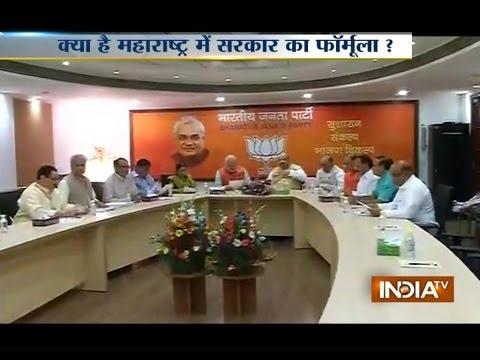 Will BJP Tie With Shiv-sena To Form Govt In Maharashtra? - India...