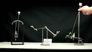 Full Kinetic Balancing Desk Toy Playground!