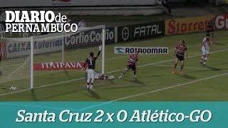 Santa Cruz vence o Atl�tico por 2 a 0