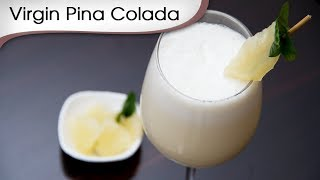 Virgin Pina Colada - Easy To Make Tropical Fruit Drink Recipe By Ruchi Bharani