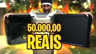 MEU NOVO COMPUTADOR DE 50.000,00 MIL REAIS! *um monstro*