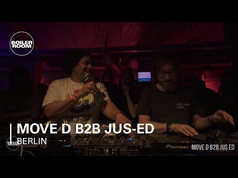 Move D b2b Jus-Ed Boiler Room Berlin b2b DJ Set