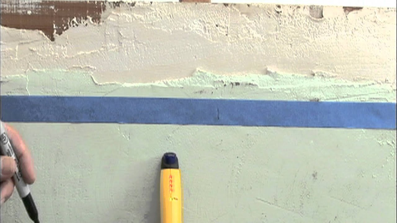 how to find studs in plaster