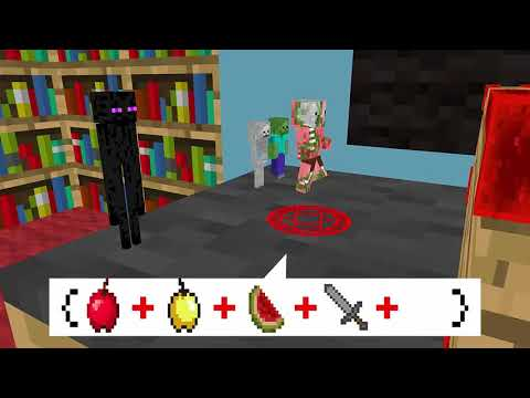 Monster School: Moving Through Walls - Minecraft Animation