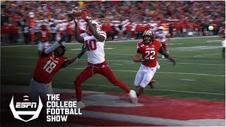 Nebraska's double deflection TD is a top Holy Cow moment of the year | The College Football Show