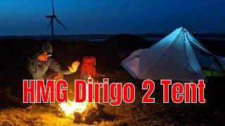 HMG Dirigo 2 Camp & Bivvy At Windfarm.