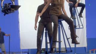 Exclusive The Divergent Series: Allegiant footage – the making of the floating scene