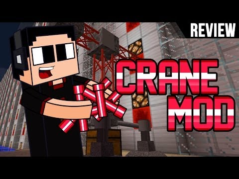 Minecraft PC: Review Crane Mod I Grua HD I para 1.7.2 I Español